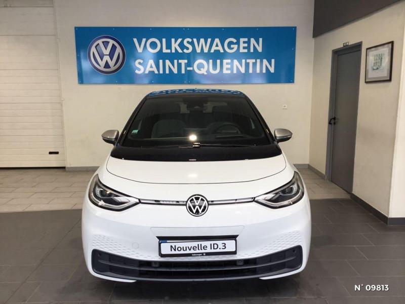 Volkswagen ID.3 204ch 1st Max Blanc occasion à Saint-Quentin - photo n°2