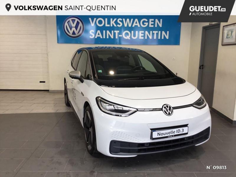 Volkswagen ID.3 204ch 1st Max Blanc occasion à Saint-Quentin