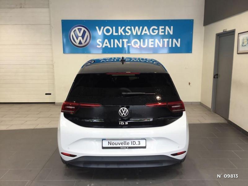 Volkswagen ID.3 204ch 1st Max Blanc occasion à Saint-Quentin - photo n°3
