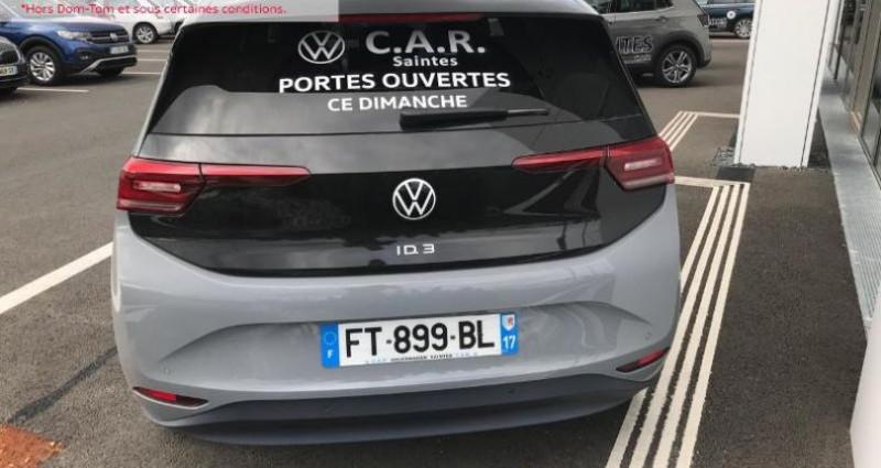 Volkswagen ID.3 204ch 1st Plus Gris occasion à La Rochelle - photo n°4