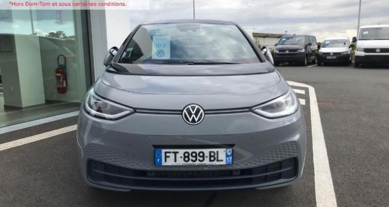 Volkswagen ID.3 204ch 1st Plus Gris occasion à La Rochelle - photo n°2