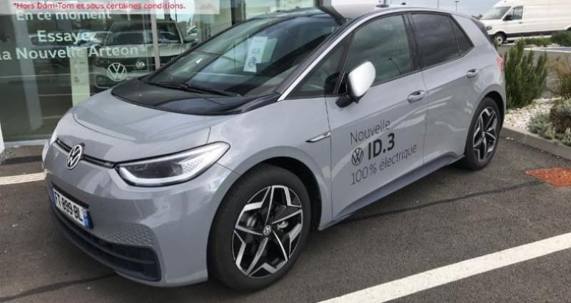 Volkswagen ID.3 204ch 1st Plus Gris occasion à La Rochelle