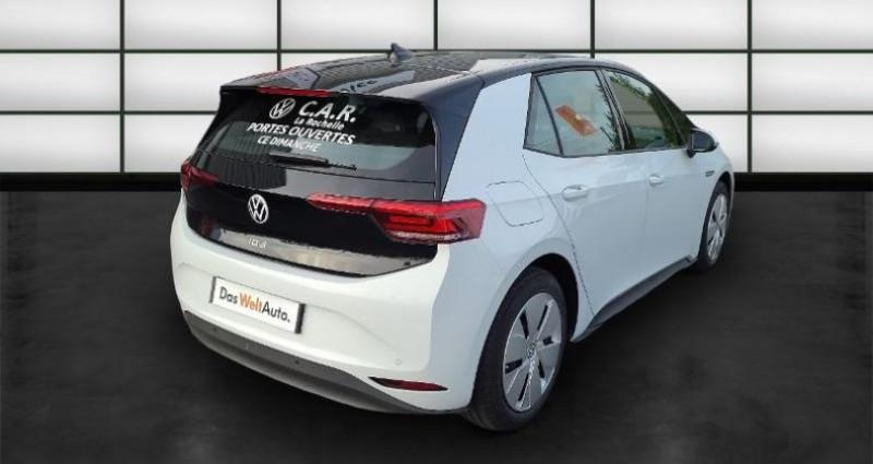 Volkswagen ID.3 58 kWh - 145ch Life Blanc occasion à La Rochelle - photo n°5