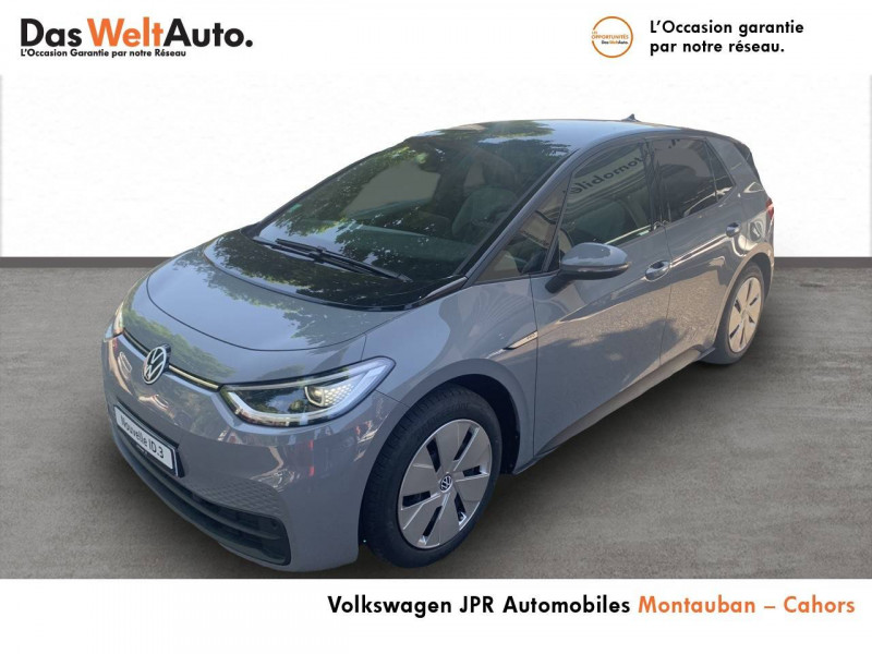 Volkswagen ID.3 ID.3 145 ch Business 5p Gris occasion à Cahors