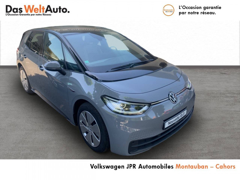 Volkswagen ID.3 ID.3 145 ch Business 5p Gris occasion à Cahors - photo n°3