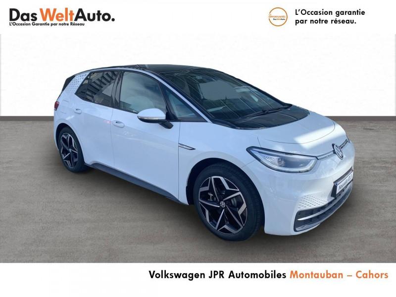 Volkswagen ID.3 ID.3 204 ch Family 5p Blanc occasion à montauban - photo n°3