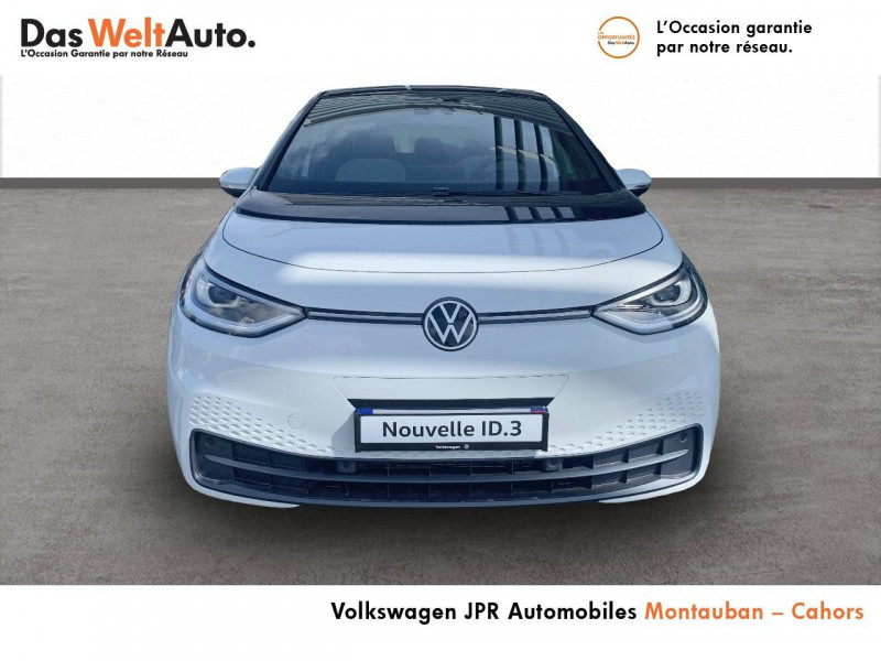 Volkswagen ID.3 ID.3 204 ch Family 5p Blanc occasion à montauban - photo n°2
