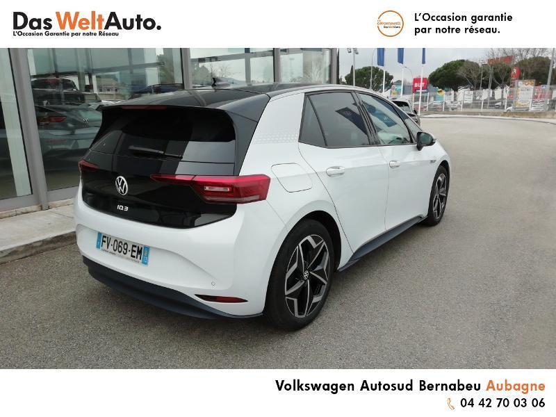 Volkswagen ID.3 Pro Performance 204ch 1st Plus Blanc occasion à AUBAGNE - photo n°4