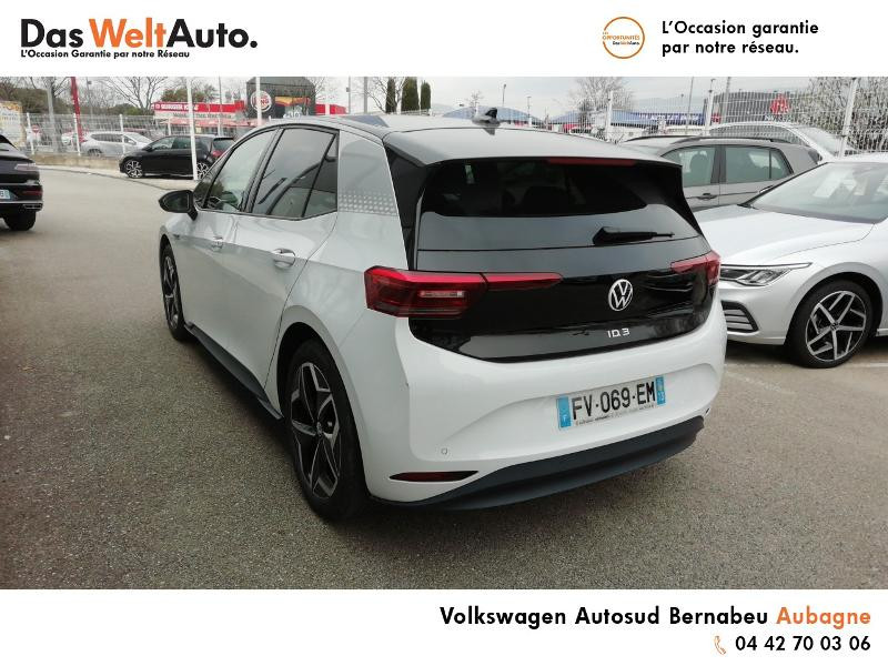 Volkswagen ID.3 Pro Performance 204ch 1st Plus Blanc occasion à AUBAGNE - photo n°3