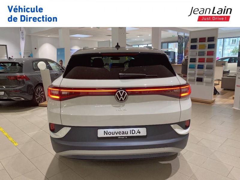 Volkswagen ID.4 ID.4 204 ch 1st 5p Blanc occasion à Voiron - photo n°6