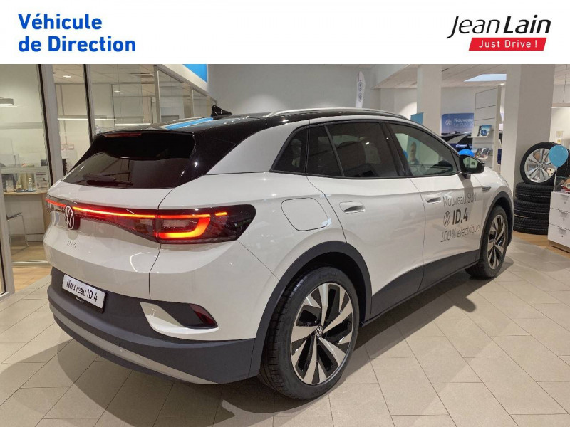 Volkswagen ID.4 ID.4 204 ch 1st 5p Blanc occasion à Voiron - photo n°5