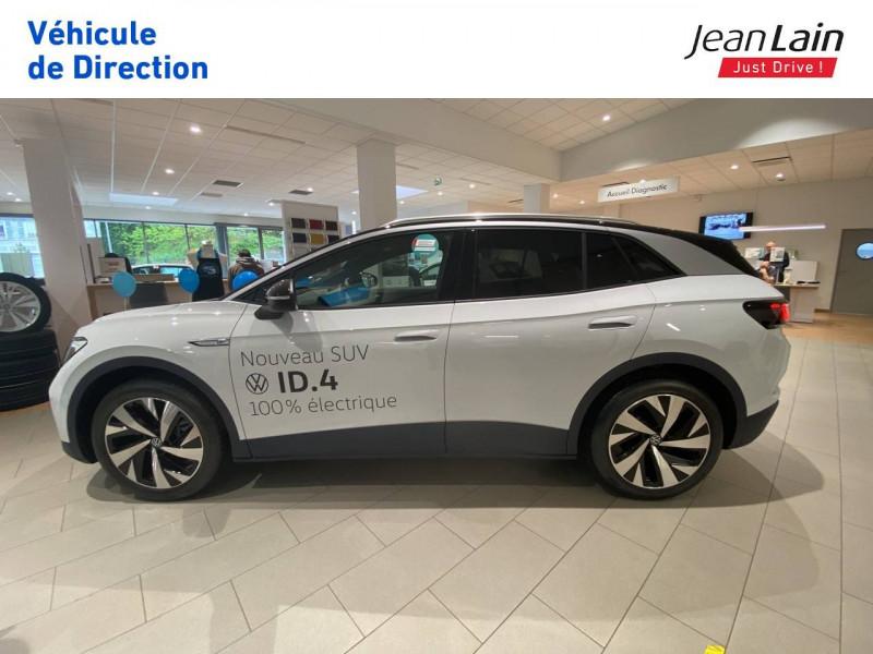 Volkswagen ID.4 ID.4 204 ch 1st 5p Blanc occasion à Voiron - photo n°8