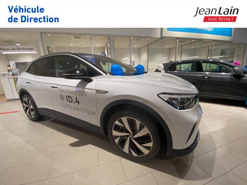 Volkswagen ID.4 ID.4 204 ch 1st 5p Blanc occasion à Voiron - photo n°3