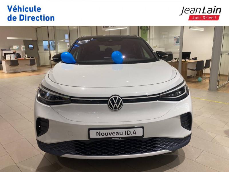Volkswagen ID.4 ID.4 204 ch 1st 5p Blanc occasion à Voiron - photo n°2