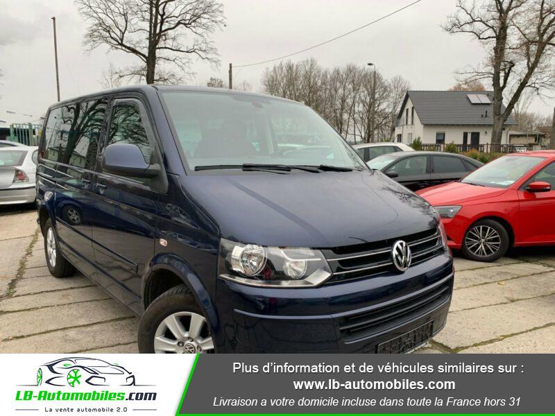 Volkswagen Multivan 2.0 TDI 114 Bleu occasion à Beaupuy - photo n°8