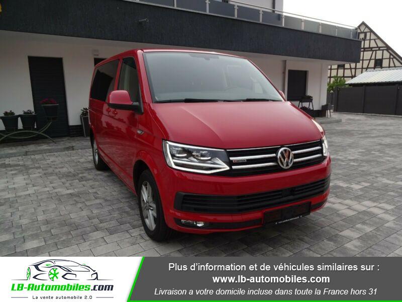 Volkswagen Multivan 2.0 TDI 204 DSG7 Rouge occasion à Beaupuy - photo n°3