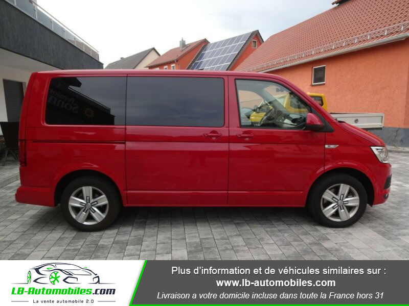 Volkswagen Multivan 2.0 TDI 204 DSG7 Rouge occasion à Beaupuy - photo n°6