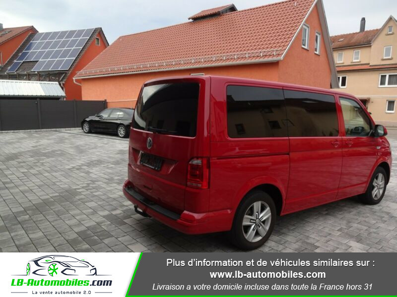 Volkswagen Multivan 2.0 TDI 204 DSG7 Rouge occasion à Beaupuy - photo n°4