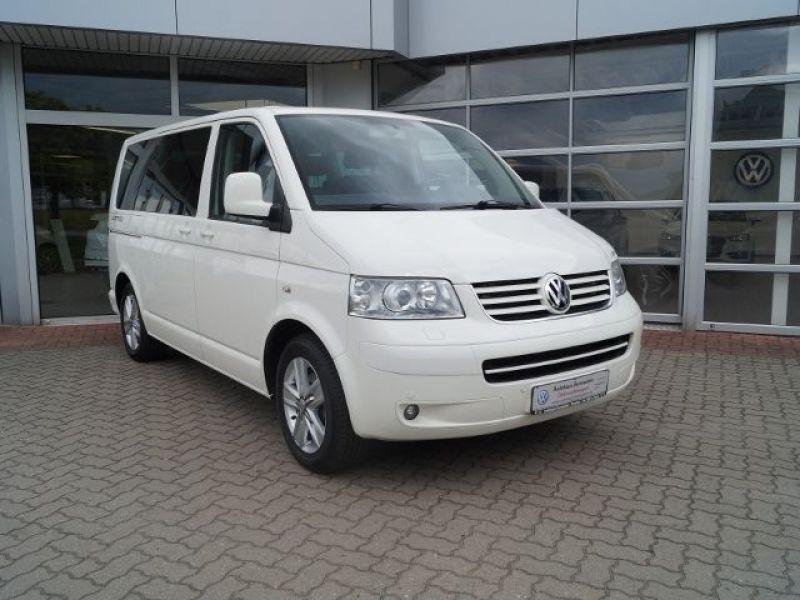 Volkswagen Multivan T5 2.0 TDI 180 ch Blanc occasion à Beaupuy - photo n°6