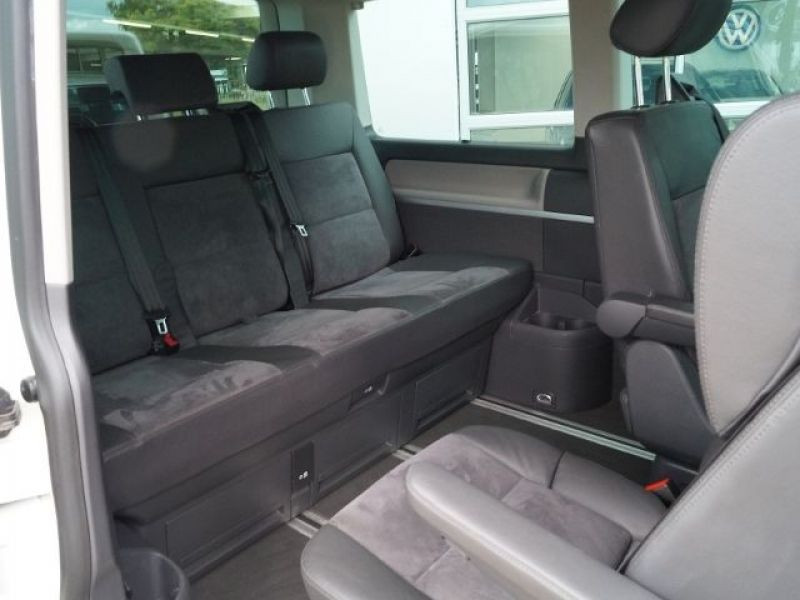 Volkswagen Multivan T5 2.0 TDI 180 ch Blanc occasion à Beaupuy - photo n°3