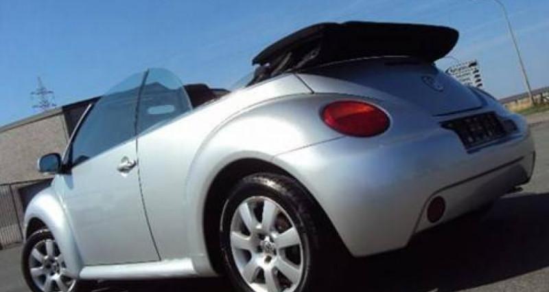 Volkswagen New Beetle Cabrio 1.9 TDi,Airco,Electr.kap,1 j Garantie Argent occasion à Kuurne - photo n°2