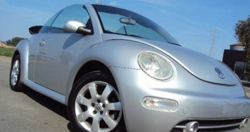 Volkswagen New Beetle Cabrio 1.9 TDi,Airco,Electr.kap,1 j Garantie Argent occasion à Kuurne