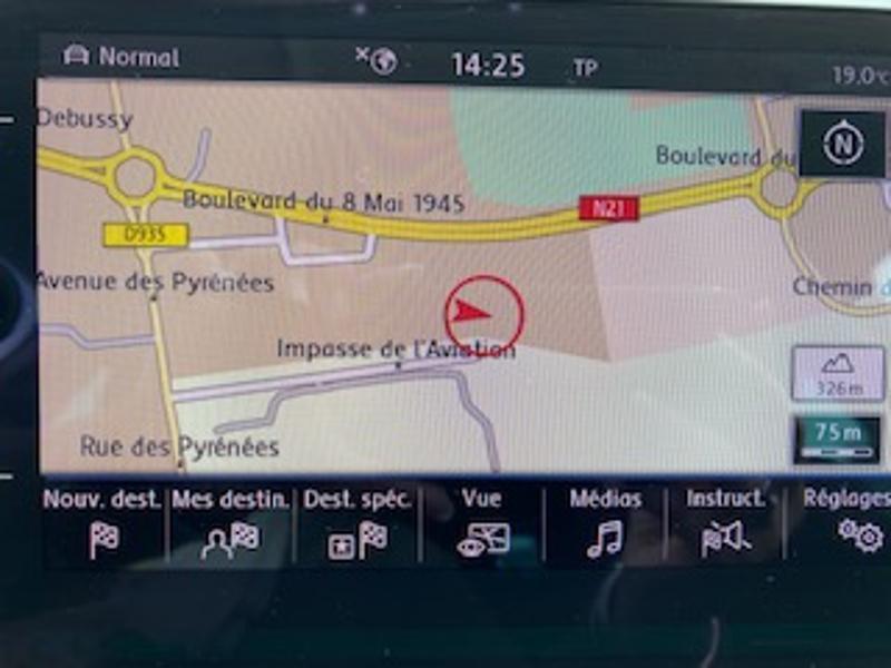 Volkswagen Passat Alltrack 2.0 TDI 190ch 4Motion DSG7 Euro6d-T Gris occasion à TARBES  - photo n°15