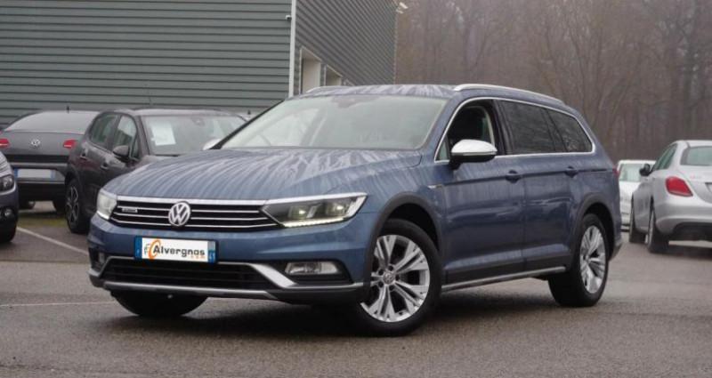Volkswagen Passat Alltrack VIII 2.0 TDI 190 4WD DSG6 Bleu occasion à Chambourcy