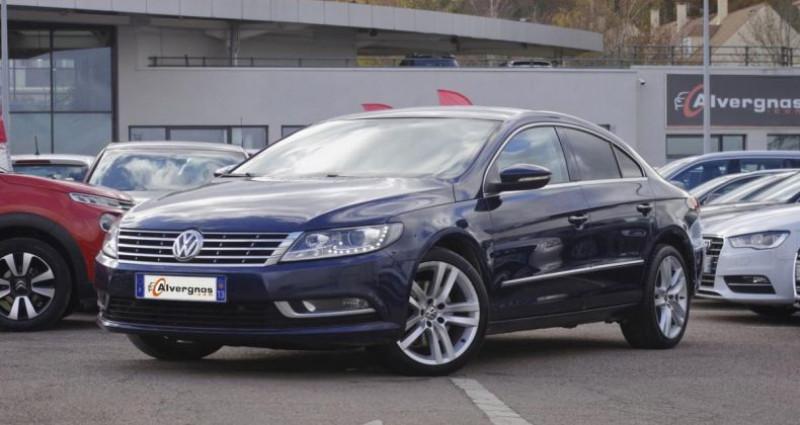 Volkswagen Passat CC 2.0 TDI 140 BLUEMOTION TECHNOLOGY CARAT EDITION Bleu occasion à Chambourcy