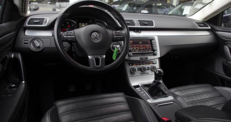 Volkswagen Passat CC 2.0 TDI 140 BLUEMOTION TECHNOLOGY CARAT EDITION Bleu occasion à Chambourcy - photo n°2