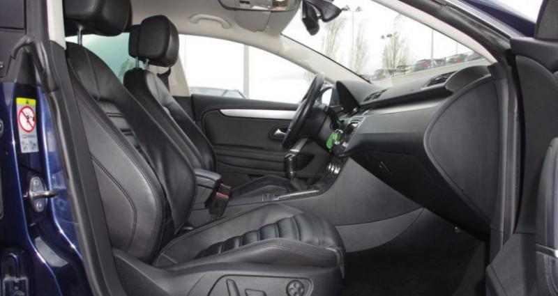 Volkswagen Passat CC 2.0 TDI 140 BLUEMOTION TECHNOLOGY CARAT EDITION Bleu occasion à Chambourcy - photo n°3