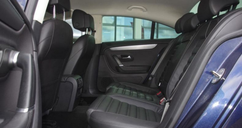 Volkswagen Passat CC 2.0 TDI 140 BLUEMOTION TECHNOLOGY CARAT EDITION Bleu occasion à Chambourcy - photo n°4