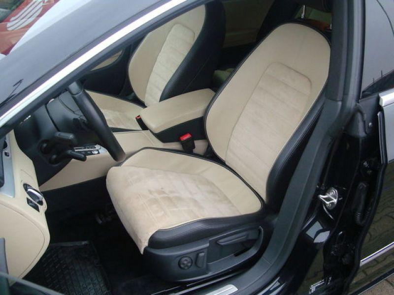 Volkswagen Passat CC 2.0 TDI 140 ch Noir occasion à Beaupuy - photo n°3