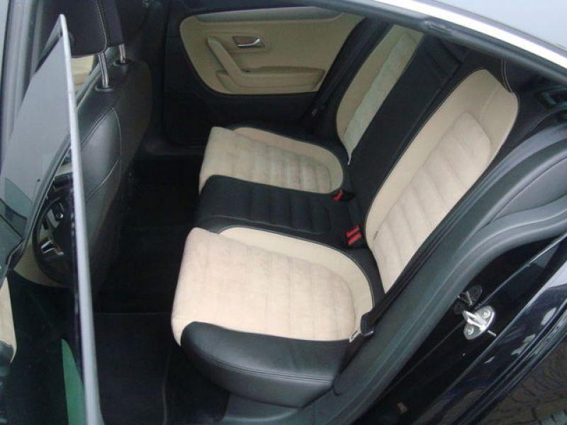 Volkswagen Passat CC 2.0 TDI 140 ch Noir occasion à Beaupuy - photo n°4