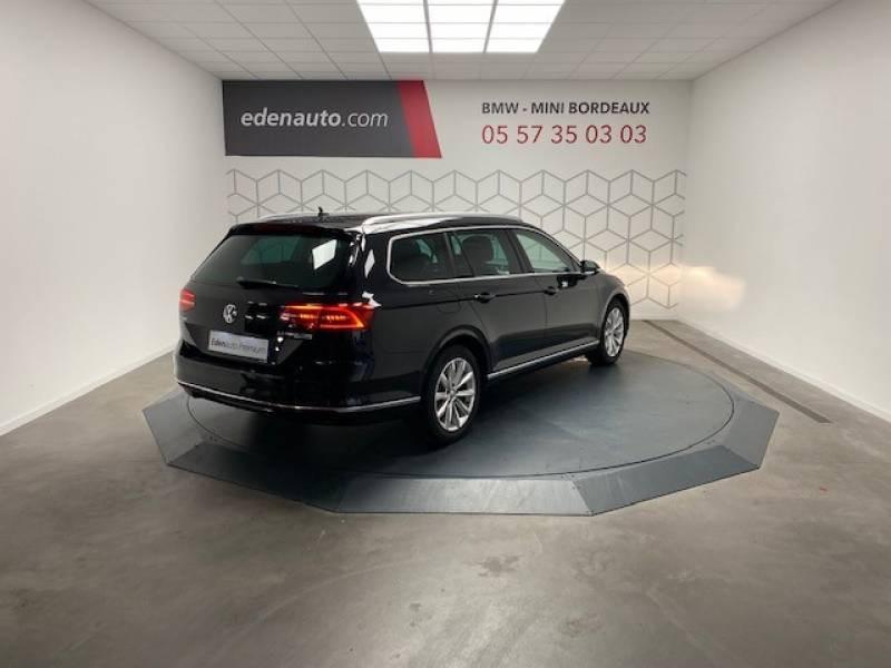 Volkswagen Passat SW 2.0 TDI 150 BMT Carat Noir occasion à Lormont - photo n°7