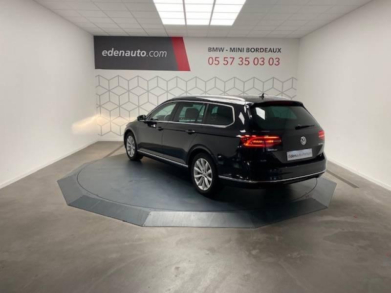 Volkswagen Passat SW 2.0 TDI 150 BMT Carat Noir occasion à Lormont - photo n°5
