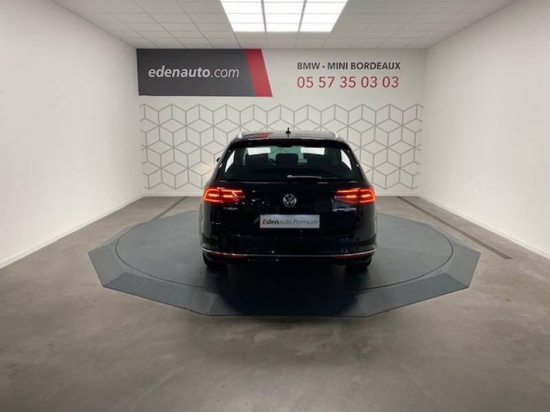 Volkswagen Passat SW 2.0 TDI 150 BMT Carat Noir occasion à Lormont - photo n°6