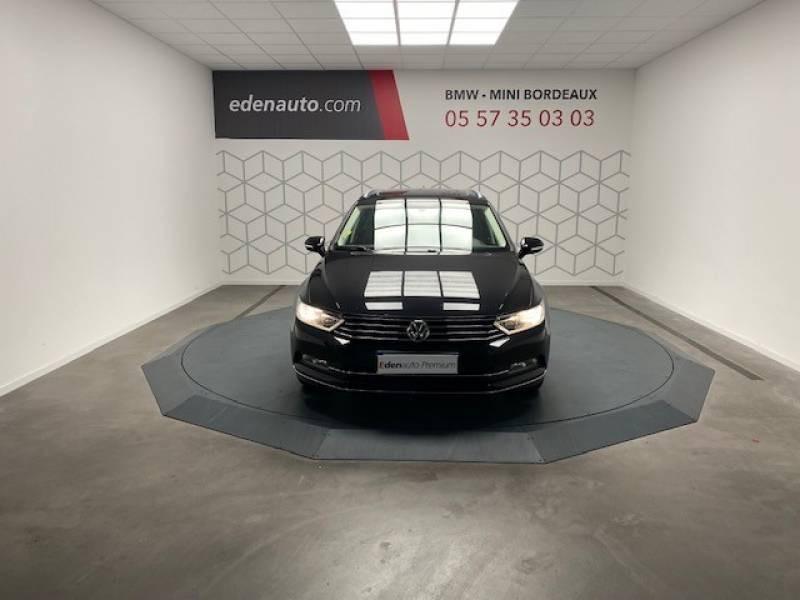 Volkswagen Passat SW 2.0 TDI 150 BMT Carat Noir occasion à Lormont - photo n°3