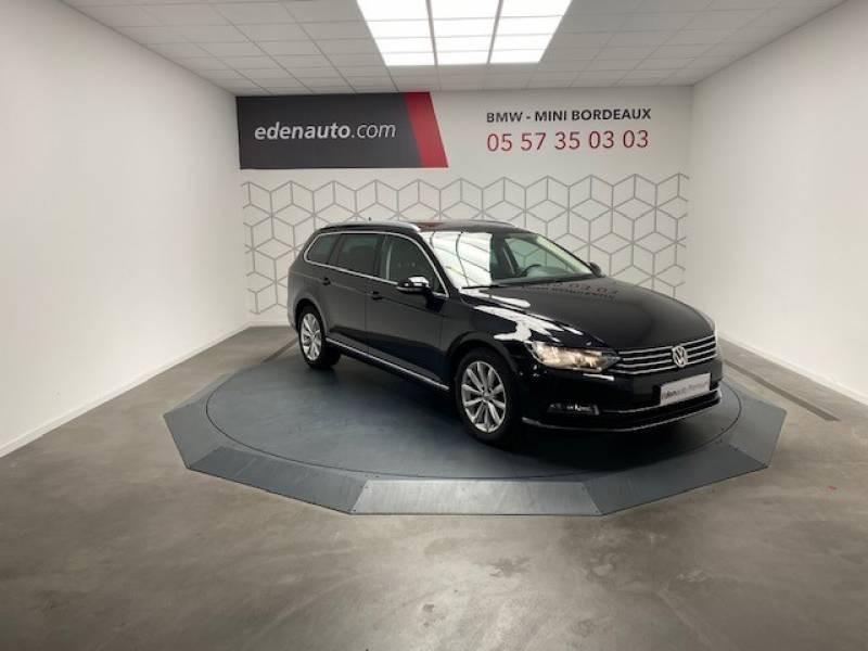 Volkswagen Passat SW 2.0 TDI 150 BMT Carat Noir occasion à Lormont - photo n°2