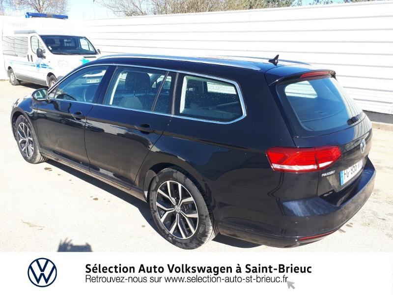 Volkswagen Passat SW 2.0 TDI 150ch Connect DSG7 Euro6d-T Noir occasion à Saint Brieuc - photo n°3