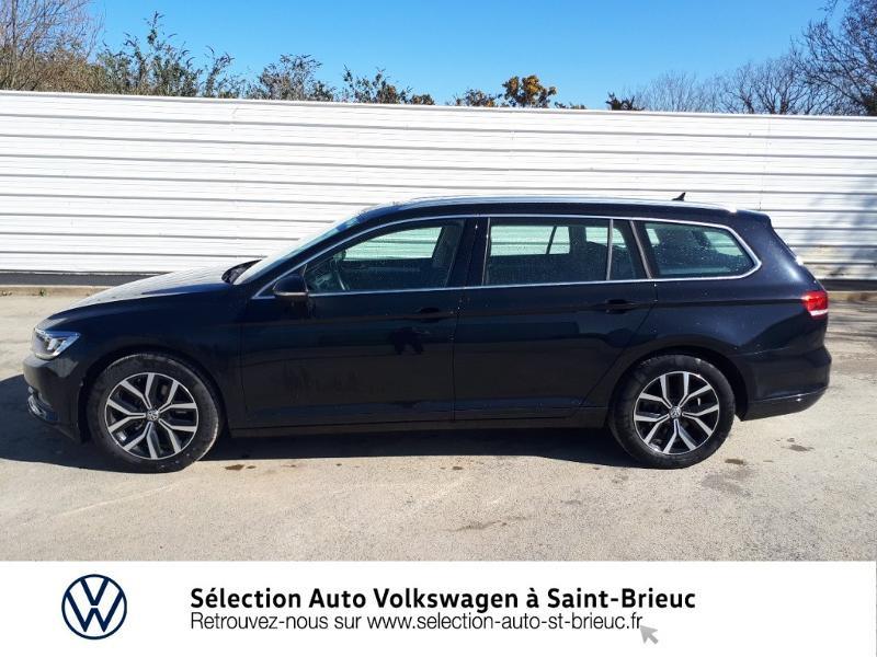 Volkswagen Passat SW 2.0 TDI 150ch Connect DSG7 Euro6d-T Noir occasion à Saint Brieuc - photo n°2