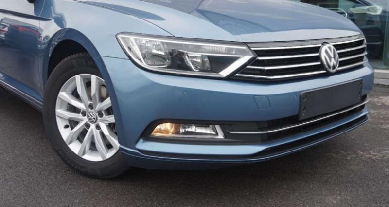 Volkswagen Passat V 1.6 CR TDi Comfortl-EURO6-LEDER-CAMERA-TREKH-NAVI Bleu occasion à Hulste-Harelbeke - photo n°2