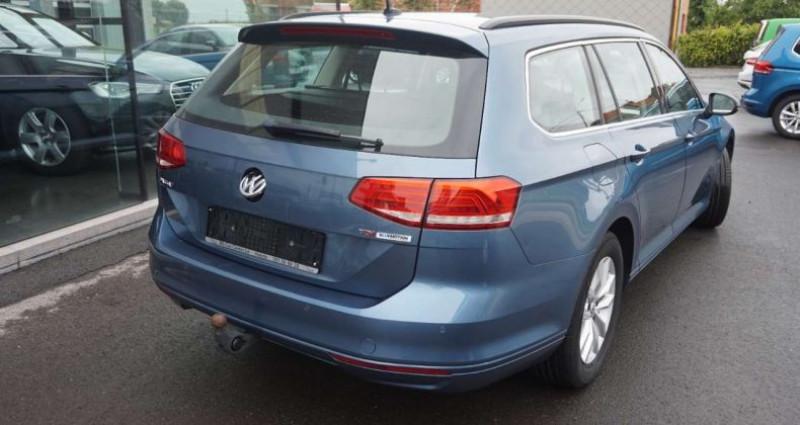 Volkswagen Passat V 1.6 CR TDi Comfortl-EURO6-LEDER-CAMERA-TREKH-NAVI Bleu occasion à Hulste-Harelbeke - photo n°3