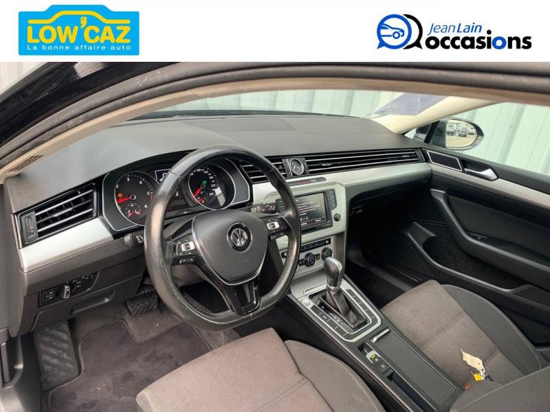 Volkswagen Passat VII Passat 1.6 TDI 120 BMT DSG7 Confortline 4p Noir occasion à La Ravoire - photo n°11