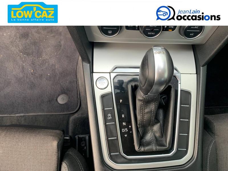Volkswagen Passat VII Passat 1.6 TDI 120 BMT DSG7 Confortline 4p Noir occasion à La Ravoire - photo n°13