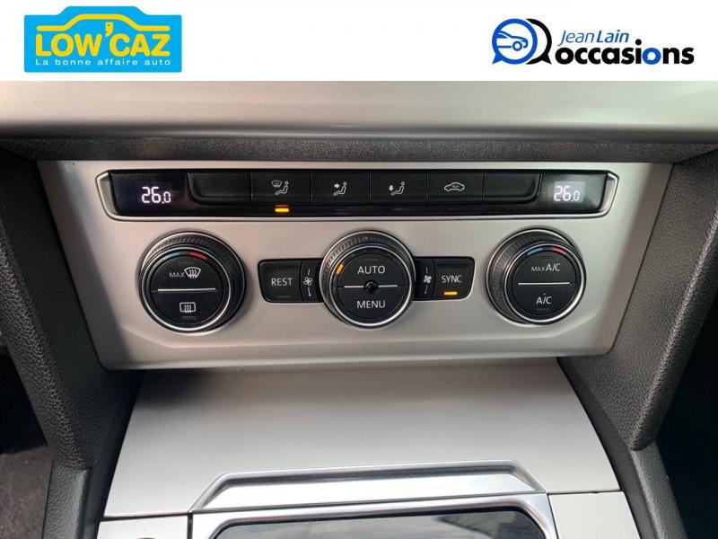 Volkswagen Passat VII Passat 1.6 TDI 120 BMT DSG7 Confortline 4p Noir occasion à La Ravoire - photo n°14