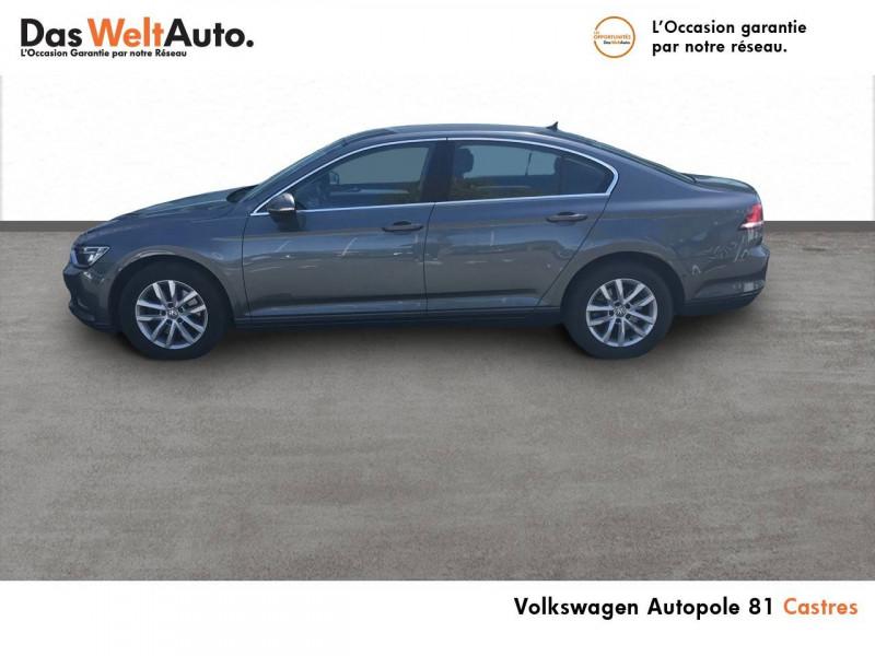 Volkswagen Passat VII Passat 1.6 TDI 120 BMT DSG7 Confortline Business 4p Gris occasion à Castres - photo n°2