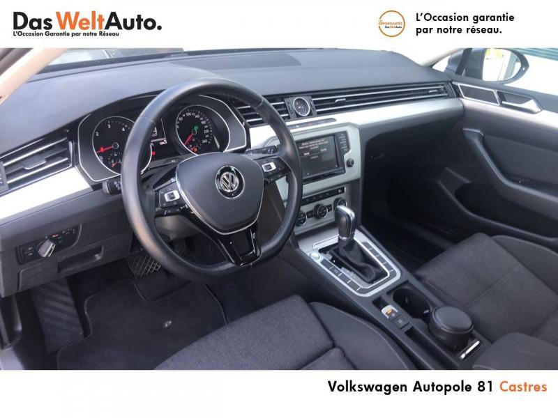 Volkswagen Passat VII Passat 1.6 TDI 120 BMT DSG7 Confortline Business 4p Gris occasion à Castres - photo n°7