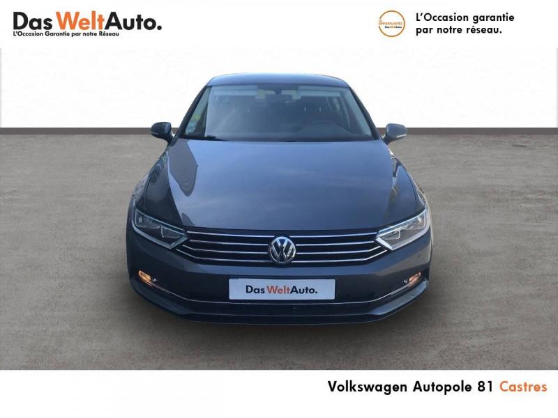 Volkswagen Passat VII Passat 1.6 TDI 120 BMT DSG7 Confortline Business 4p Gris occasion à Castres - photo n°4