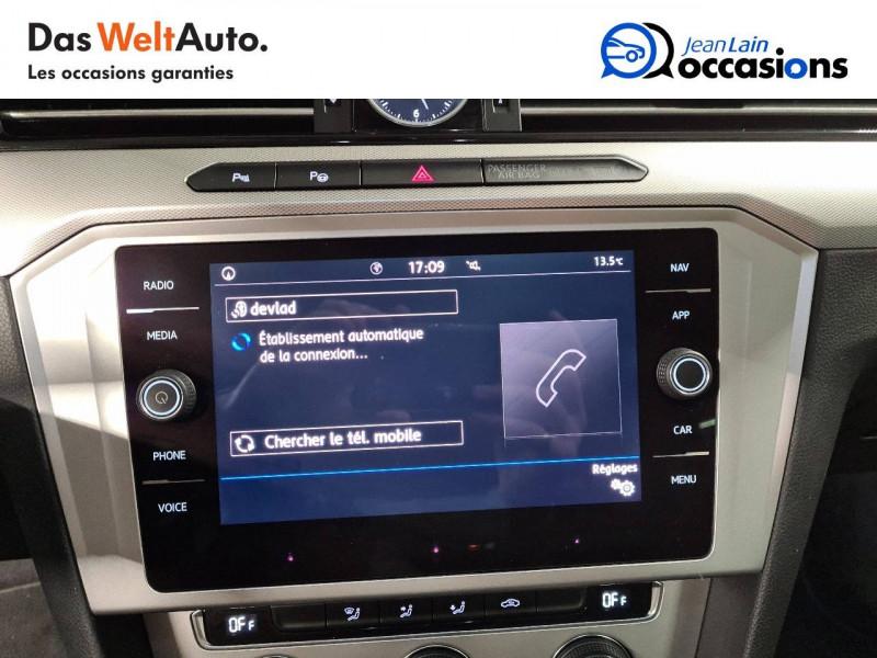 Volkswagen Passat VII Passat 1.6 TDI 120 DSG7 Confortline 4p Noir occasion à Seynod - photo n°16